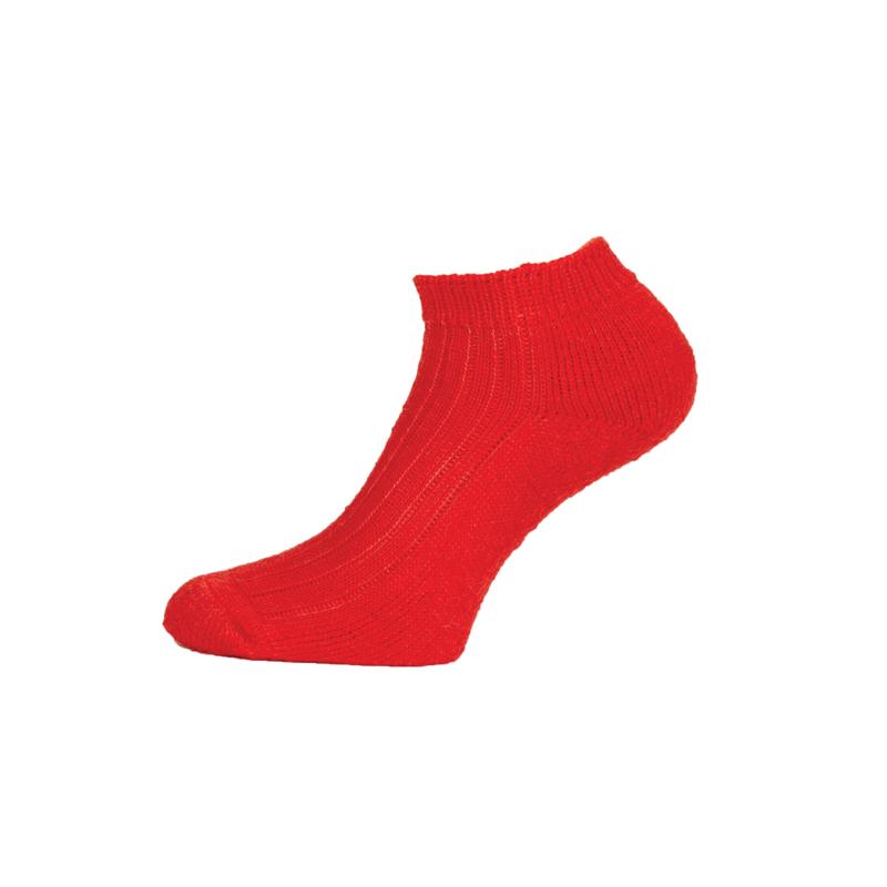 mohair socks - corrymoor swift plain knit trainer socks