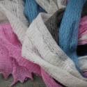 Kid Mohair and Silk Scarves