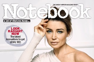 Sunday Mirror Notebook Magazine