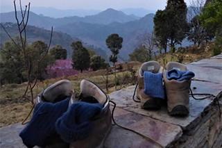 Kumaon Himalayas in India
