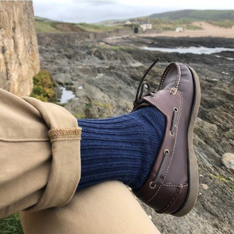 Corrymoor Mohair Gentle-Top Socks
