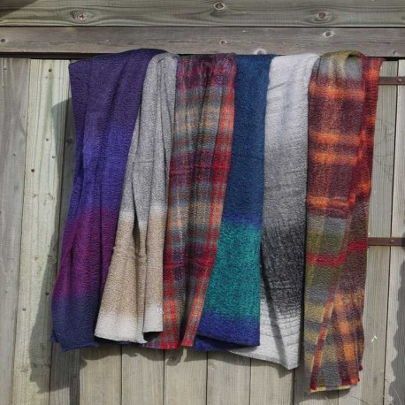 Corrymoor Mohair Throws