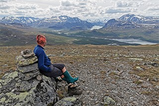 The Jotunheimstien Path, Norway