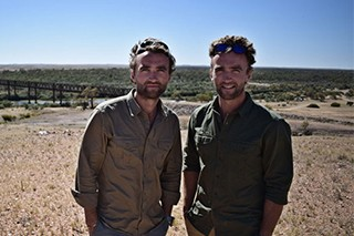 The Turner Twins in Kenya