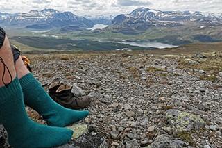 The Jotunheimstien Path, Norway